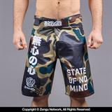 Scramble No Mind Camo Shorts